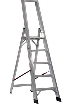 Çağsan 4+1 Basamaklı Alesta Profesyonel Alüminyum Merdiven
