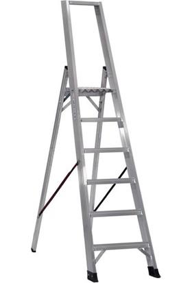 Çağsan 5+1 Basamaklı Alesta Profesyonel Alüminyum Merdiven