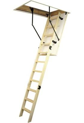 Çağsan 70 x 120 cm Ahşap Çatı Merdiveni