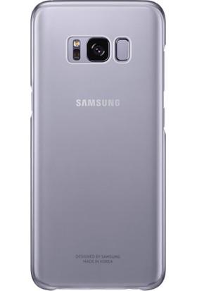 Samsung Galaxy S8 Plus Şeffaf Kılıf Mor - EF-QG955CVEGWW