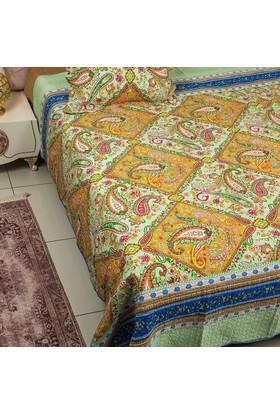 Ev Homeset Yeşil Çift Kişilik Yatak Örtüsü Ylm325-Ck