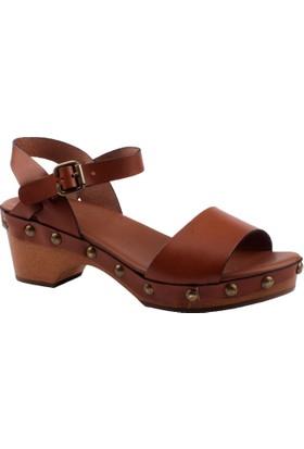 Frau Kadın 56N3 Natural-S Sandalet