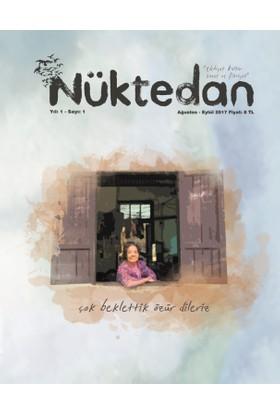 Nüktedan Dergisi 1. Sayı Ağustos - Eylül