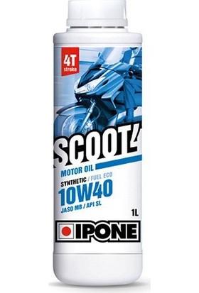 Ipone Ipone Scoot 4 / (10W40) 4T Sentetik Scooter Motor Yağı (1L)