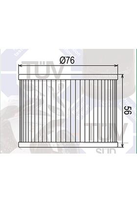 Mtx Mtx Yağ Filtresi Mf-401 Kawasaki Ex250 K8F,K9F,Kaf,Kbf,Kcf (Ex250R Ninja) 2008 To 2012
