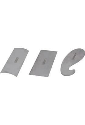 Narex 854100 Ahşap Kazıyıcı Sistre Seti 3 Parça