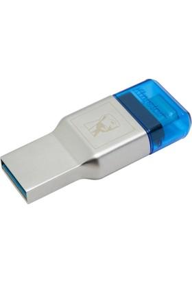 Kingston MobileLite DUO 3C USB3.1 +Type C SD/Micro SD Kart Okuyucu FCR-ML3C
