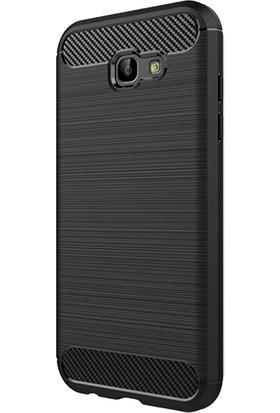 Ally Samsung Galaxy A7 2017 Dark Ultra Koruma Silikon Kılıf