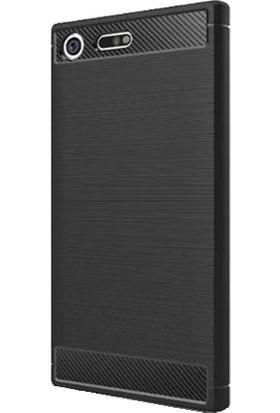 Ally Sony Xperia Xz Premium Dark Ultra Koruma Silikon Kılıf