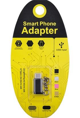 Ally Ligtining Dönüştürücü Mİcro Usb Adaptor Converter Çevirİci Başlık Anahtarlık