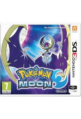 Nintendo 3DS Pokemon Moon (PAL Versiyon)