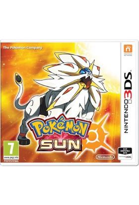 Nintendo 3DS Pokemon Sun (PAL Versiyon)