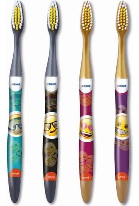 Banat Emoji 2'Li Diş Fırçası (Orta)