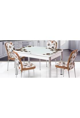 Kutuphome Masa Sandalye Takımı Açılır Masa Snt006