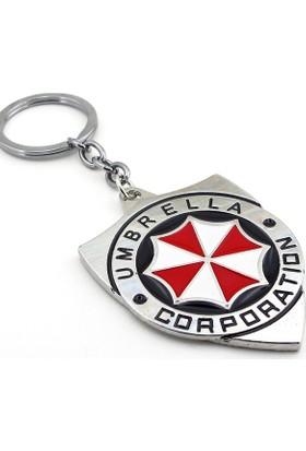 Solfera Resident Evil Umbrella Corporation Metal Anahtarlık Kc664