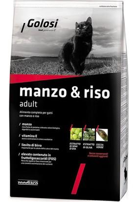Golosi Cat Manzo-Riso Tavuk Ve Biftekli Yetişkin Kedi Mamasi 400 Gr