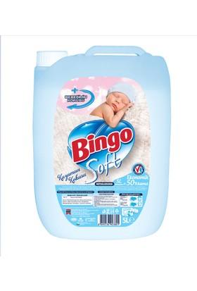 Bingo Soft Kuzumun Kokusu Çamaşır Yumuşatıcısı 5L