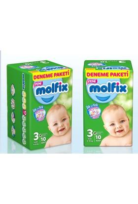 Molfix Bebek Bezi Deneme Paketi Maxi 4 Beden 9 Adet