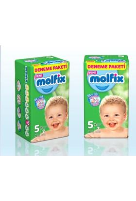 Molfix Bebek Bezi Deneme Paketi Junior 5 Beden 7 Adet