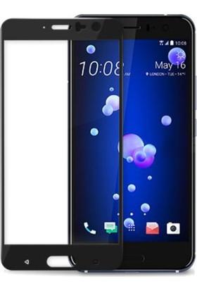 Case 4U HTC U11 3D Cam Ekran Koruyucu Tam Kapatan Ekran Koruyucu*