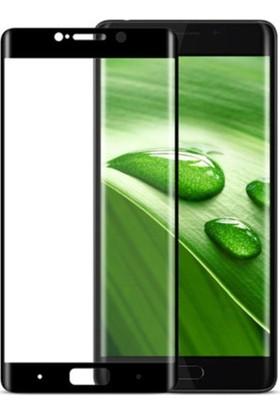 Case 4U Xiaomi Mi Note 2 Tam Kapatan Cam Ekran Koruyucu Siyah