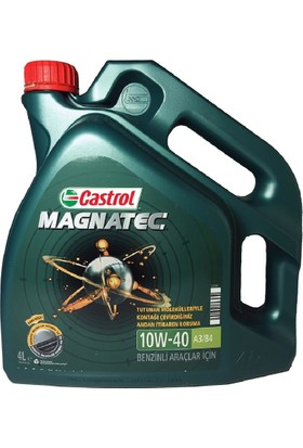 Castrol Magnatec 10W-40 A3/B4 4 Litre Motor Yağı (Benzin)