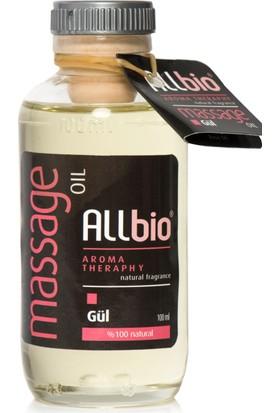 Allbio - Aromaterapi Masaj Yağı (100Ml) Gül