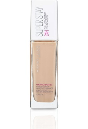 Maybelline Superstay 24 Hr Photofix Foundation 10 Ivory