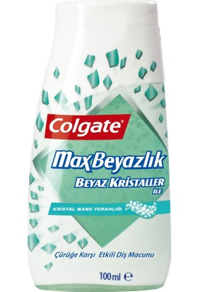 Colgate Diş Macunu 2IN1 Max Beyazlık 75 ml