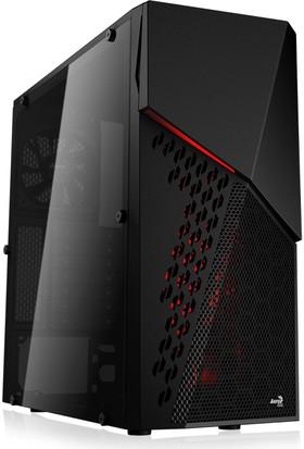 Aerocool CyberX Advance 500W 80+ 3x12cm Fanlı Full Akrilik Yan Panel USB 3.0 Mid Tower Kasa (AE-CYBERXA-500)