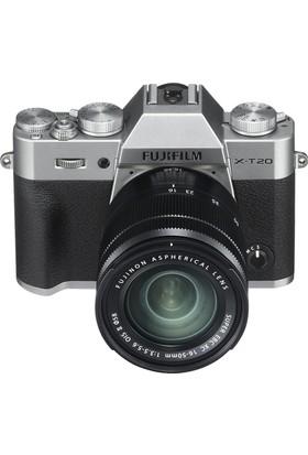 Fujifilm X-T20 Gümüş + XC 16-50mm F3.5-5.6 OIS II Siyah Kit