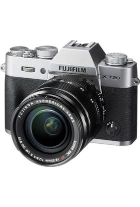 Fujifilm X-T20 Gümüş + XF 18-55mm F2.8-4 R LM OIS Kit
