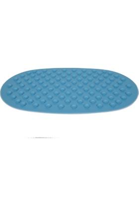 Portakal Safety Banyo Küvet Kaydırmaz Paspas Mavi