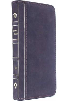 BookBook Apple iPhone 7 Cüzdanlı Koyu Kahverengi Eskitme Kılıf