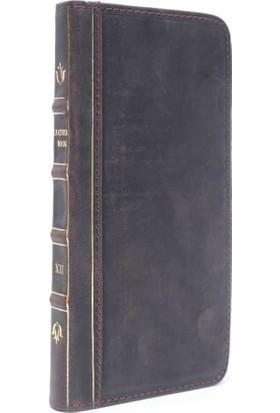 BookBook Apple iPhone 6/6S Plus Cüzdanlı Koyu Kahverengi Kılıf