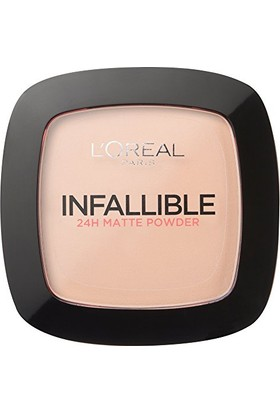 Loreal Paris Infallible Foundation Powder 123 Warm Vanilla 9 Gr
