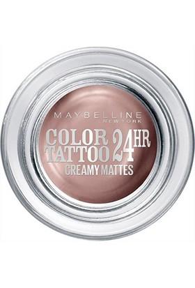 Maybelline Color Tattoo 24 Hr Eyeshadow Creme De Rose