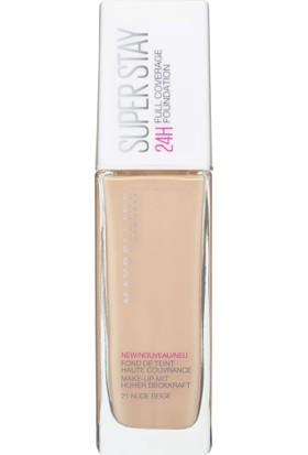 Maybelline Superstay 24 Hr Photofix Foundation 21 Nude Beige