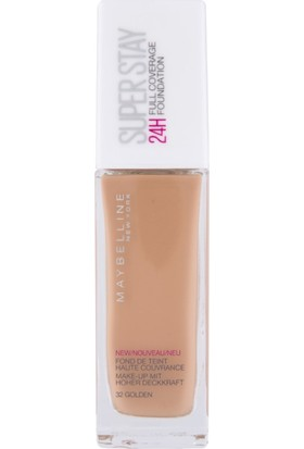 Maybelline Superstay 24 Hr Photofix Foundation 32 Gold
