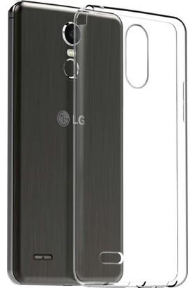 Microcase Lg Stylus 3 Ultra İnce Silikon Kılıf + Tempered Cam
