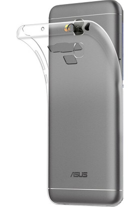Microcase Asus Zenfone 3 Max Zc553Kl 0.2 Mm Ultra İnce Soft Silikon Kılıf