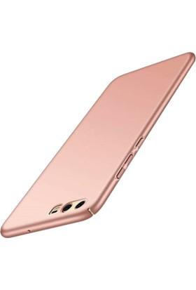 Microcase Huawei P10 Luxury Sert Köşeli Rubber Kılıf