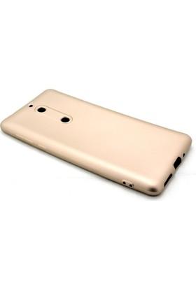 Microcase Nokia 5 Premium Mat Silikon Kılıf + Tempered Cam