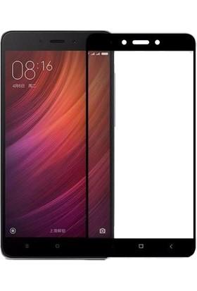 Microcase Xiaomi Redmi Note 4 Çerçeveli Tempered Ekran Koruyucu