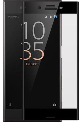 Case Man Sony Xperia XA1 Ultra 3D Tam Kaplayan Ekran Koruma Seti + Cep Bakım Kiti