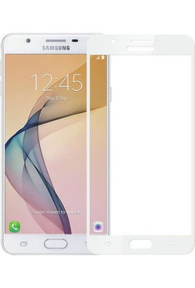 Case Man Samsung J5 Prime 3D Tam Kaplayan Ekran Koruma Seti + Cep Bakım Kiti