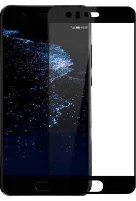 Case Man Huawei P10 3D Tam Kaplayan Ekran Koruma Seti + Cep Bakım Kiti + Kalem