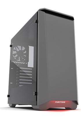 Phanteks Eclipse P400S Sessiz Cam Kapaklı Siyah Bilgisayar Kasası
