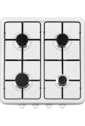 Maximus Klasik Set Üstü Dörtlü Ocak Beyaz Mx640