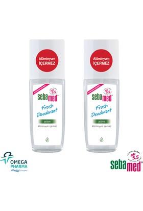 Sebamed Deodorant Active Sprey 75 Ml - 2 Adet